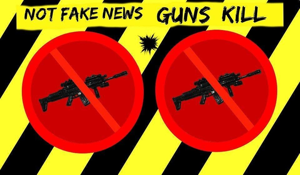 Guns and news